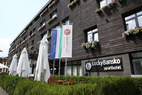 Fasada Lucki Bansko Aparthotel & Spa