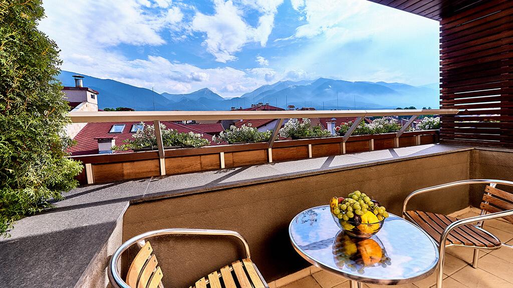 Apartman Executive - pogled sa balkona | Lucky Bansko