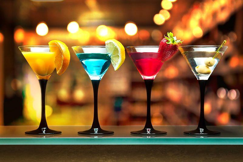Cocktails in a bar in Bansko | Lucky Bansko SPA & Relax