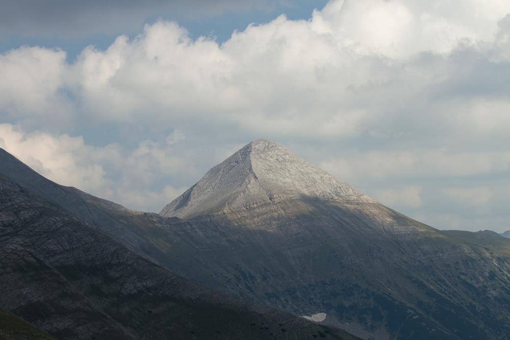 Pogled iz Banskog ka vrhu Vihren | Lucky Bansko SPA & Relax