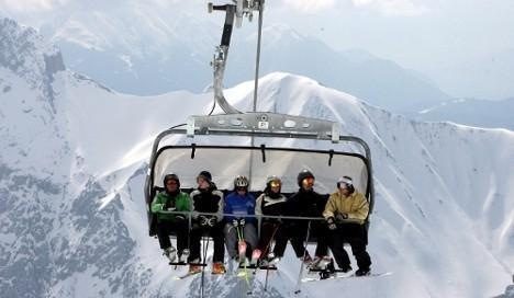 Slika lifta sa korpama u Banskom | Lucky Bansko SPA & Relax