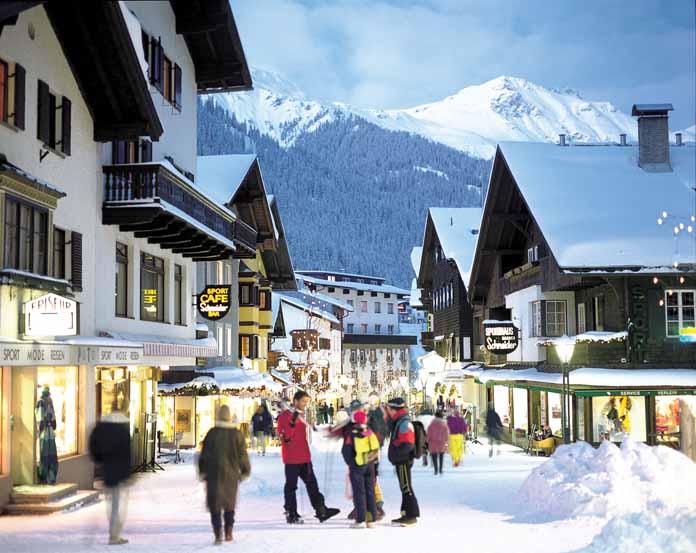 St. Anton ski centar, Austrija | Lucky Bansko SPA & Relax