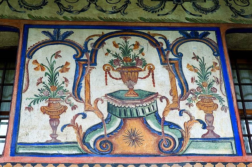 Freska iz Valjanove kuće | Lucky Bansko