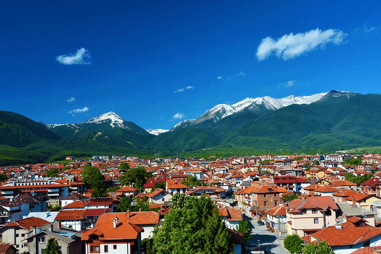 Predivan pogled na planine