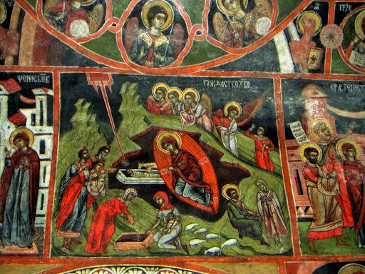 Ikonografija u crkvi u selu Dobarsko