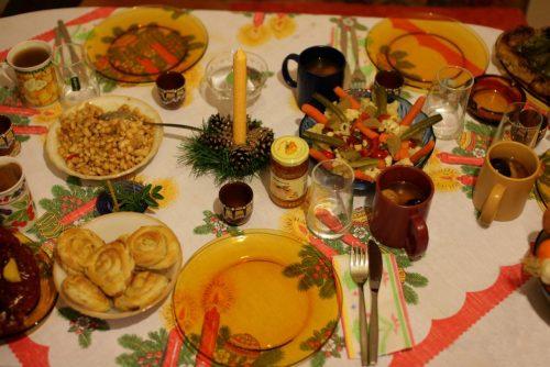 Božićni sto u Banskom | Lucky Bansko SPA & Relax