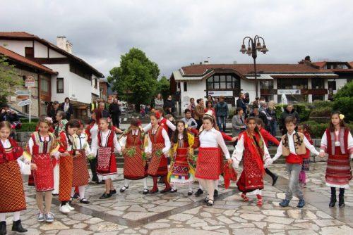Muzički, pjesnički i plesni nastupi folklora | Lucky Bansko