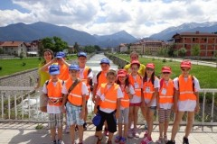 Photo of participants in the kid's camp | Lucky Bansko