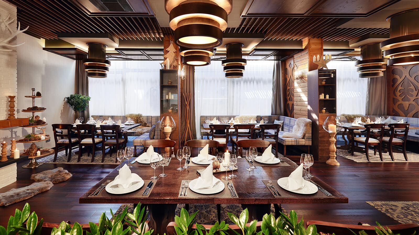 Fondue pogled na restoran   Lucky Bansko SPA & Relax