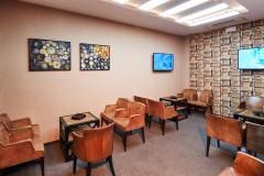 Sala za pušače u restoranu Fondue