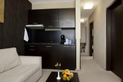 Apart-hotel Lucky Bansko SPA & Relax | Apartman Lux dnevna soba i kuhinja