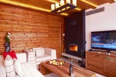 Predsednički Apartman kamin slika | Apart-hotel Lucky Bansko SPA & Relax