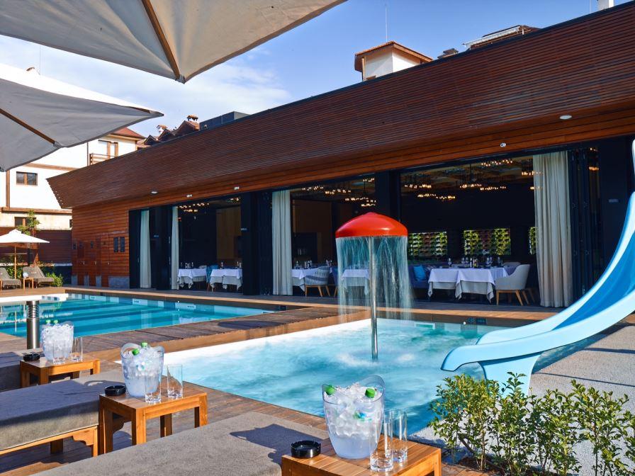 Spoljašnji bazen Akva kompleksa | Lucky Bansko SPA & Relax