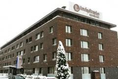 Apart-hotel Lucky Bansko SPA & Relax |  Fasada u toku zime