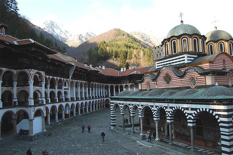 Rilski manastir iznutra | Lucky Bansko SPA & Relax