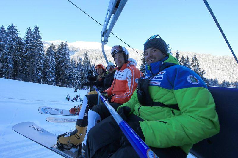 Selfi na ski liftu u Banskom | Lucky Bansko SPA & Relax