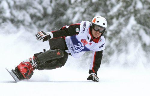 Snoubordista na ski stazi u Banskom | Lucky Bansko