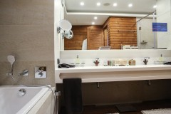 Kupatilo u Predsedničkom Apartmanu | Lucky Bansko SPA & Relax