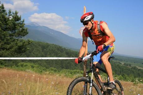 Biciklista u planini slika | Lucky Bansko SPA & Relax