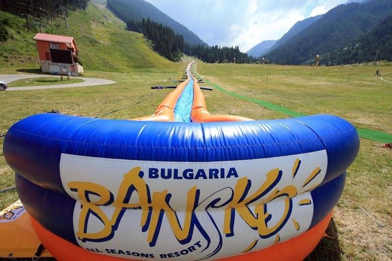 Vodeni tobogan u Banskom | Lucky Bansko SPA & Relax